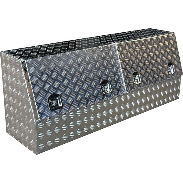 Aluminium High Side Ute/Truck Box (Double Door) | Ute Tool Boxes-Tool Storage-Tool Factory