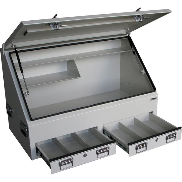 Steel Hd Truck Box 2-Drawer | Ute Tool Boxes-Tool Storage-Tool Factory