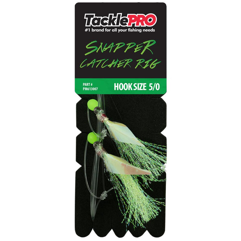 Tacklepro Snapper Catcher Green - 5/0 | Snapper Catchers-Fishing-Tool Factory