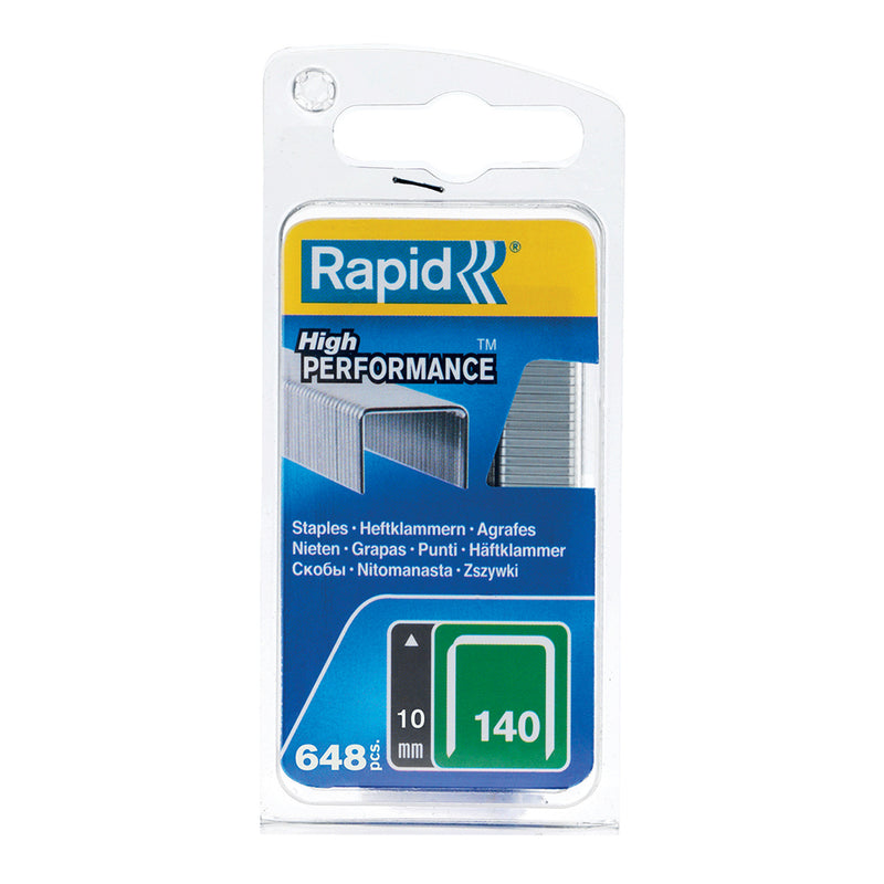 Rapid Staples 140/10 648pcs Clamshell-Staples-Tool Factory