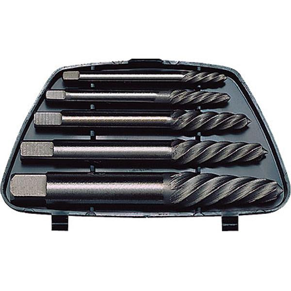 Teng 5Pc Screw Extractor Set - Round Shank | Service Tools - Sets-Hand Tools-Tool Factory