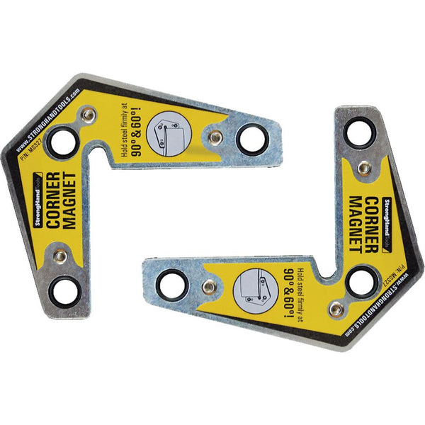 Stronghand Corner Magnet Twin Pack | Magnetic Positioners-Welding-Tool Factory