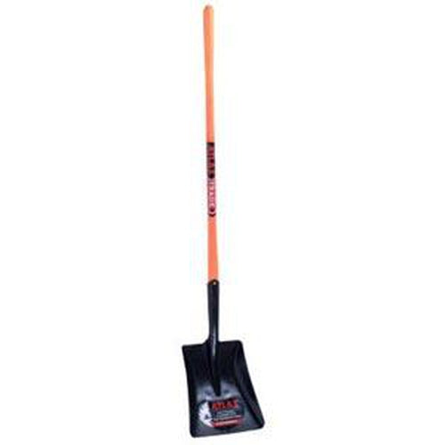 Atlas Shovel #3 Sq Mth L/H/F - As00614 | Shovels - Square Mouth-Garden-Tool Factory