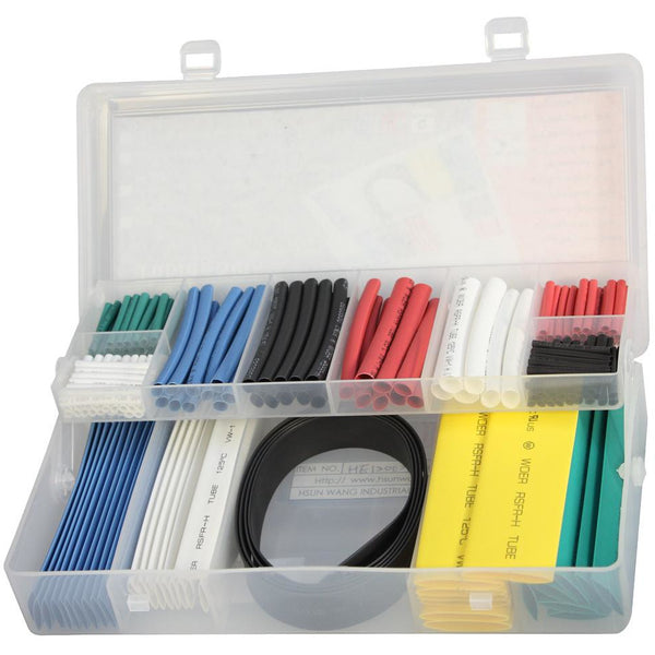Upgrade Heat Shrink Tubing Set 171pc Asstd Colours-General Hardware-Tool Factory