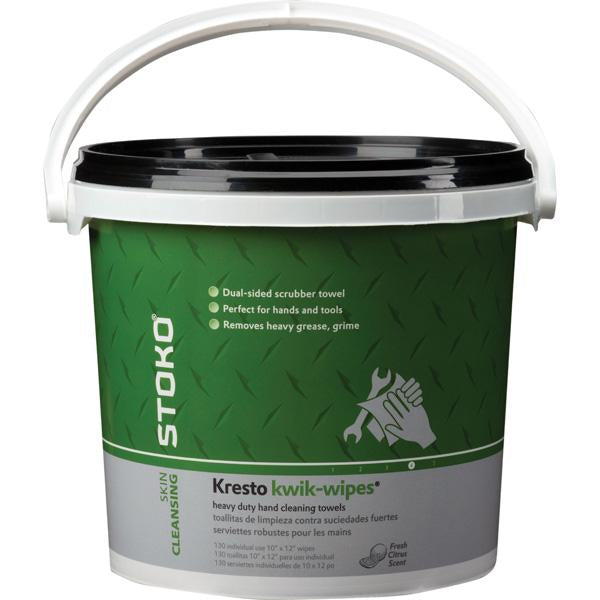 Stoko Hd Kresto Kwik Wipes 130 Bucket | Hand Cleaners & Skin Care - Wipes-Cleaners-Tool Factory