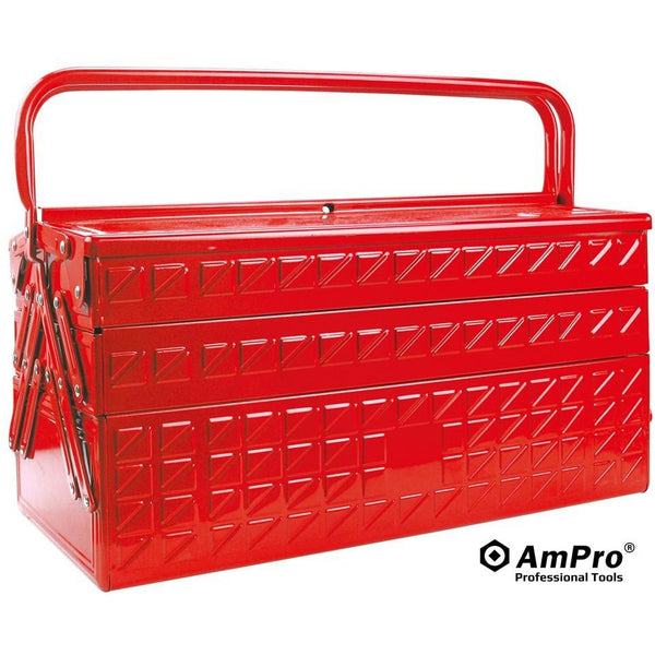 AmPro Tool Box - 5 Tier-Sockets & Accessories-Tool Factory