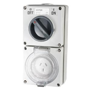 10A 3 Flat Pin 250V Switched Socket** | Plugs & Sockets - Switched Socket Outlets