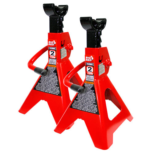 Torin - Big Red Axle Stand (1 Pair) 3 Ton