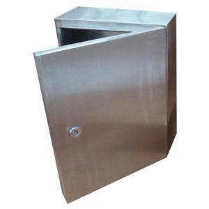 400Hx300Wx150D S/S Encl. Single Door Lockable Ip66*** | Enclosures - Stainless Steel