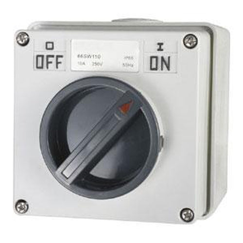 10A 1 Pole 250V Surface Switch Module Ip66** | Plugs & Sockets - Switches-Automotive & Electrical Accessories-Tool Factory