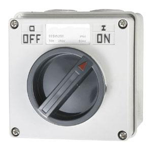 50A 2 Pole 250V Surface Switch Module ** | Plugs & Sockets - Switches-Automotive & Electrical Accessories-Tool Factory