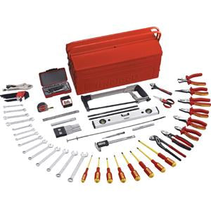 Teng 84Pc Tool Kit W/Tc540 Cantilever Toolbox | Tool Kits-Tool Storage-Tool Factory