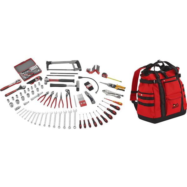 Teng 144Pc Tool Kit W/ Tcsb Backpack Toolbag | Tool Kits-Tool Storage-Tool Factory