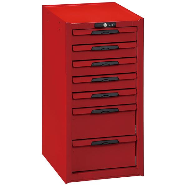 Teng 7-Dr. Side Cabinet For Roll Cabs | Accessories - Roll Cabinet Accessories-Tool Storage-Tool Factory
