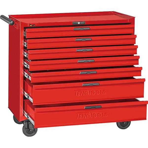 Teng 7-Dr. 8-Series 37In Work Station Roller Cabinet | Tool Boxes-Tool Storage-Tool Factory
