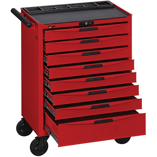 Teng 8-Dr. 8-Series Roller Cabinet | Tool Boxes-Tool Storage-Tool Factory