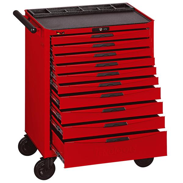 Teng 10-Dr. 8-Series Roller Cabinet | Tool Boxes-Tool Storage-Tool Factory