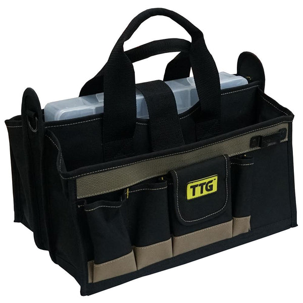 Ttg 16In Open-Top Centre Tray Tool Bag | Tool Bags-Work Wear-Tool Factory