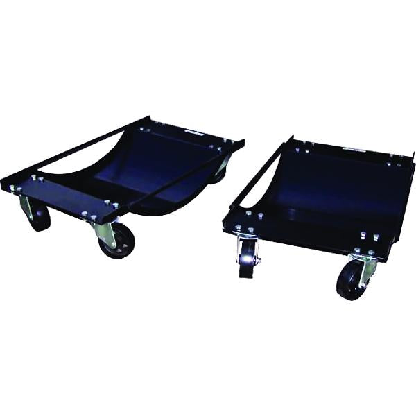 Tradequip Vehicle Dollies 454Kg (1000Lb) Pair | Handling Equipment-Workshop Equipment-Tool Factory