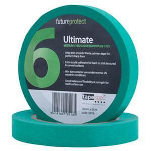 Ultimate Exterior Masking Tape 18Mm X 50M - 6R18 | Masking Tape-Tapes - Adhesive-Tool Factory
