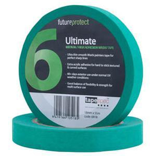 Ultimate Exterior Masking Tape 36Mm X 50M - 6R36 | Masking Tape-Tapes - Adhesive-Tool Factory