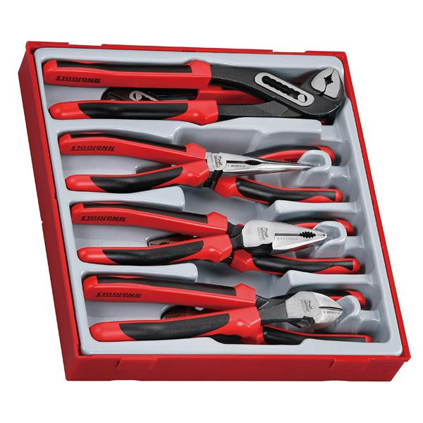 8Pc Mega Bite Tpr Grip Plier Set | Tool Tray Sets-Hand Tools-Tool Factory