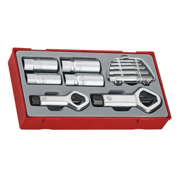 11Pc Stud & Nut Remover Set | Tool Tray Sets