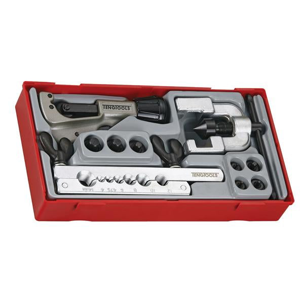 10Pc Double Flaring Tool Set | Tool Tray Sets