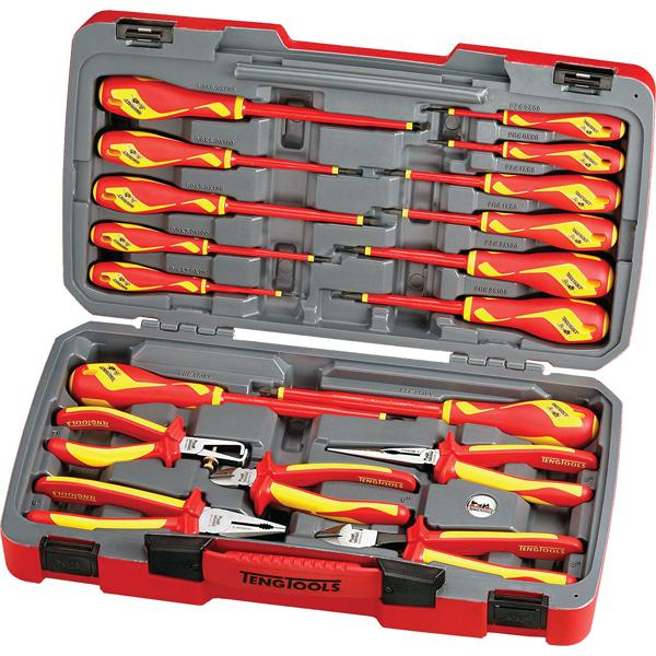 Teng 18Pc 1000V Vde Plier & Screwdriver Set | Insulated Tools - Sets