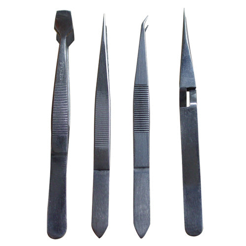 Worldwide Tweezer Set 4pc 120mm-Hand Tools-Tool Factory