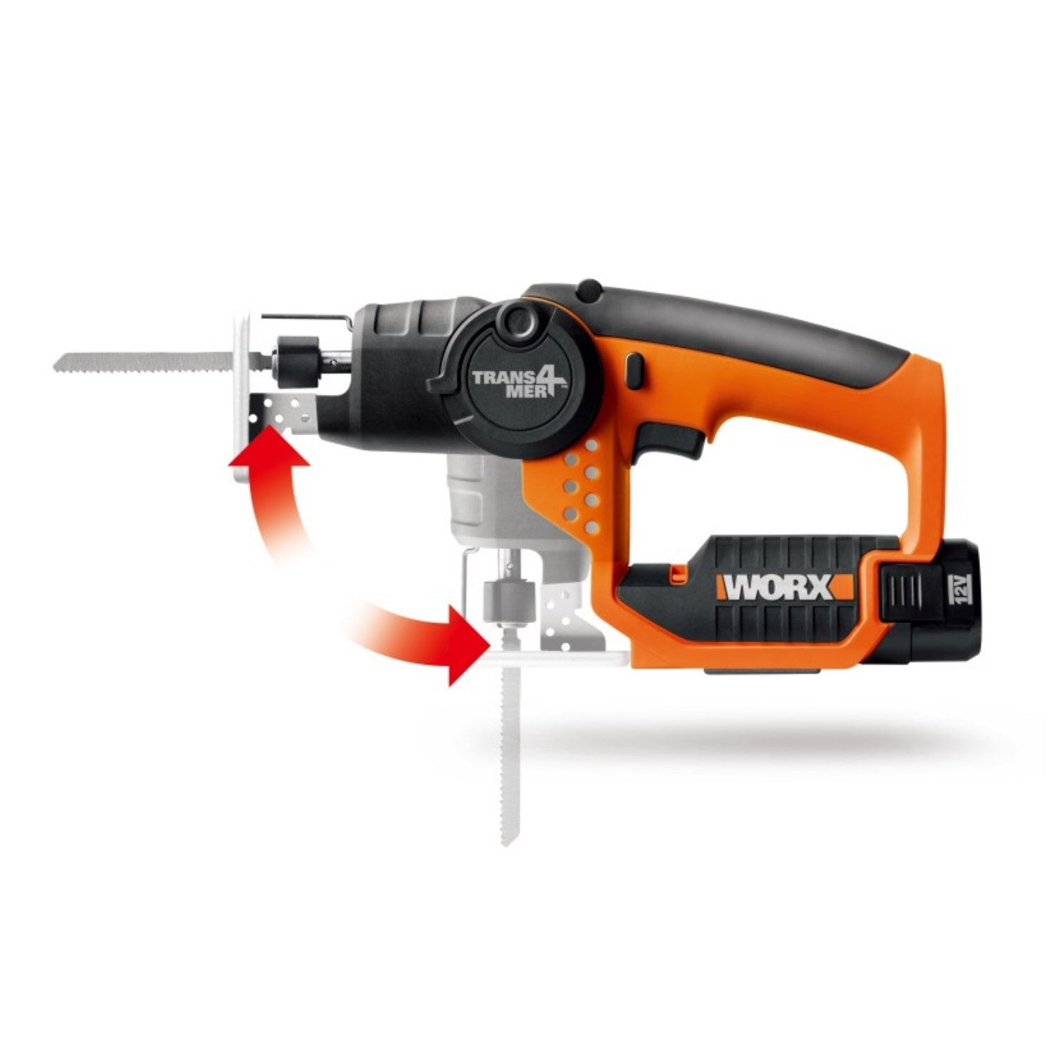 Worx 12V Trans4mer Reciprocating JigSaw
