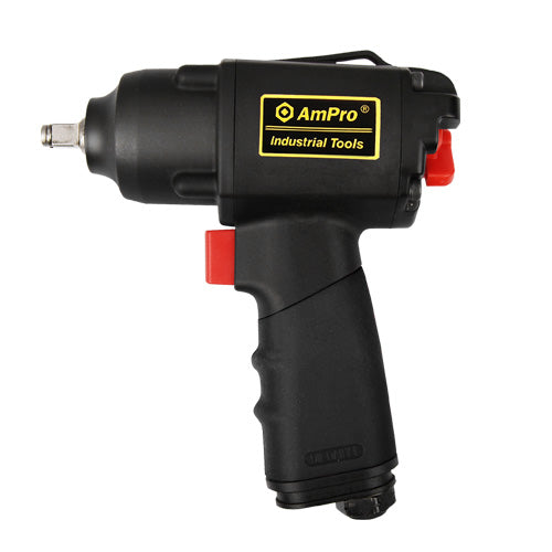 "AmPro 3/8""Dr Air Impact Wrench 280 Ft/Lb 280 Ft/Lb-Air Tools-Tool Factory"
