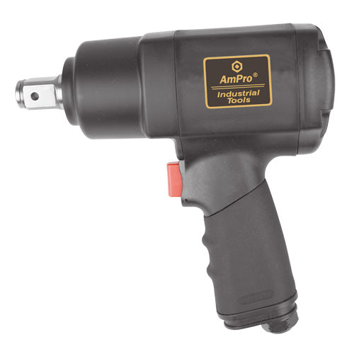 "AmPro 3/4""Dr Air Impact Wrench 1000 Ft/Lb 1000 Ft/Lb-Air Tools-Tool Factory"