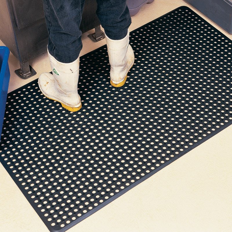 Worksave Rubber Mat 13mm - 2 Sizes-Anti Fatigue / Slip Resistent Mats-Tool Factory
