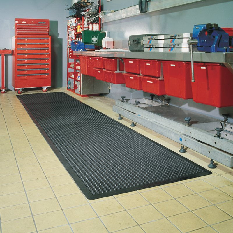 Ozone Mat Black - 3 Sizes-Anti Fatigue / Slip Resistent Mats-Tool Factory