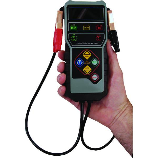 Proequip Digital Battery Tester - 7.6V-17V Dc | Battery Testing-Electric Testing & Inspection-Tool Factory