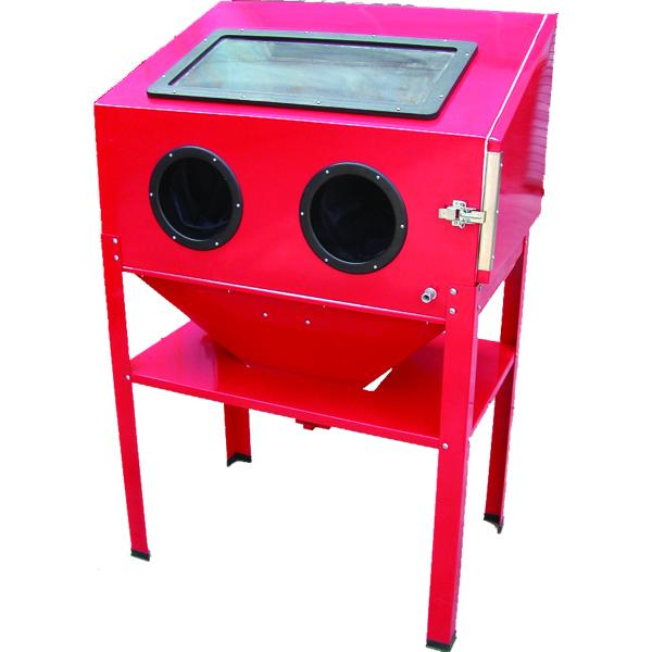 Proequip Sand Blasting Cabinet With Stand | Sand Blasting-Workshop Equipment-Tool Factory