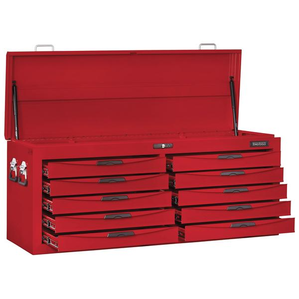 Teng 10-Dr. 54In 8-Series Top Box With Lid | Tool Boxes