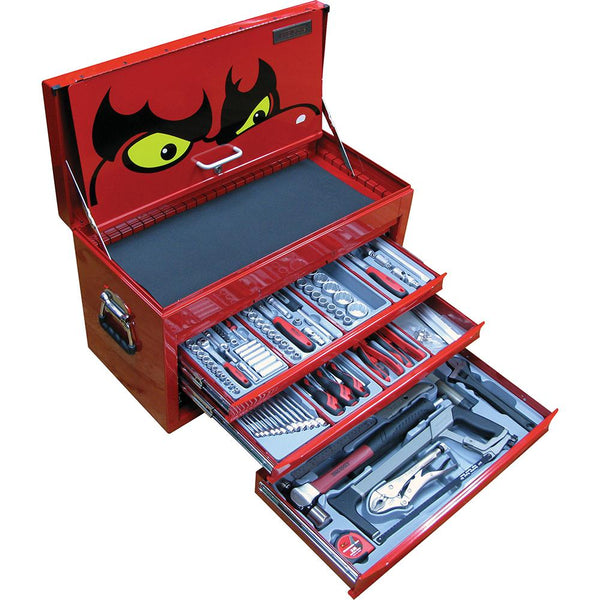 Teng 140Pc Mechanics Metric Starter Kit (Sv) | Tool Kits-Tool Storage-Tool Factory