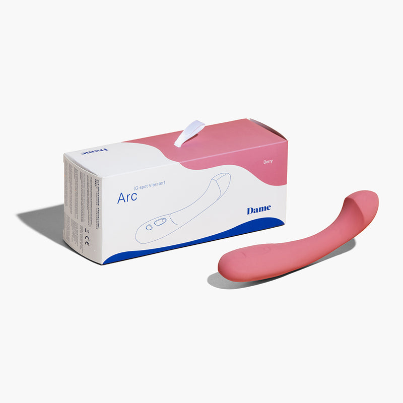 Dame Products Arc Vibrator Berry