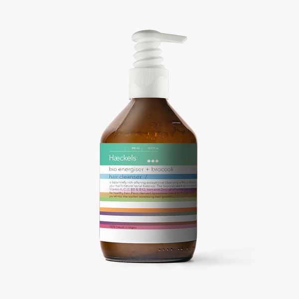 Haeckels Bio Energiser + Broccoli Hair Cleanser
