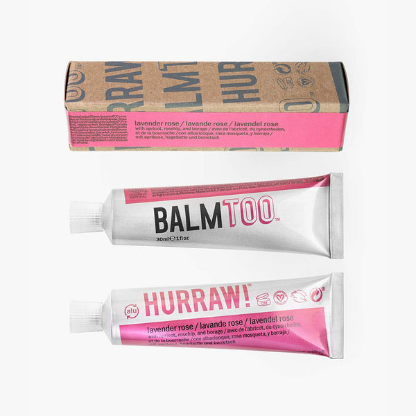 Hurraw BALMTOO Lavender Rose Balm