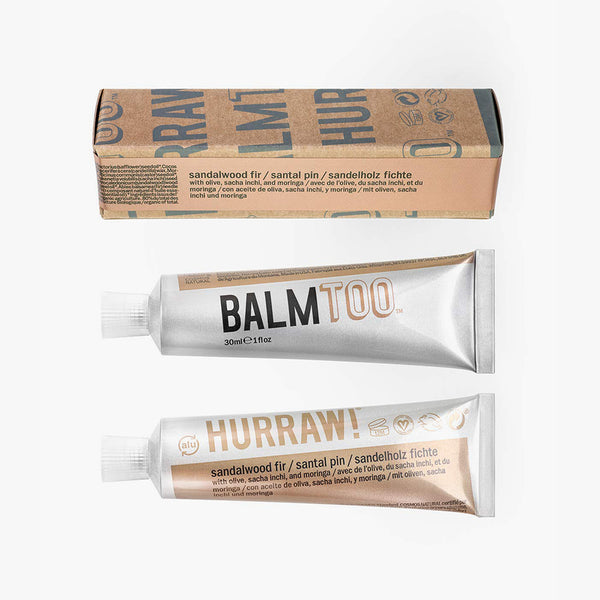 Hurraw BALMTOO Sandalwood Fir Balm