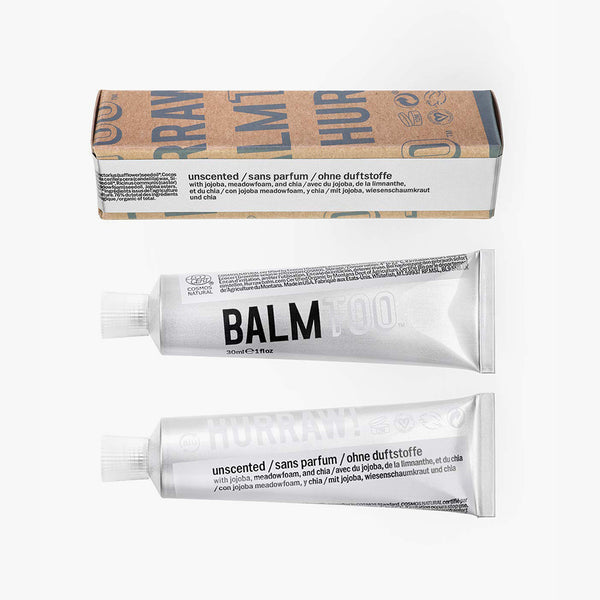 Hurraw BALMTOO Unscented Balm