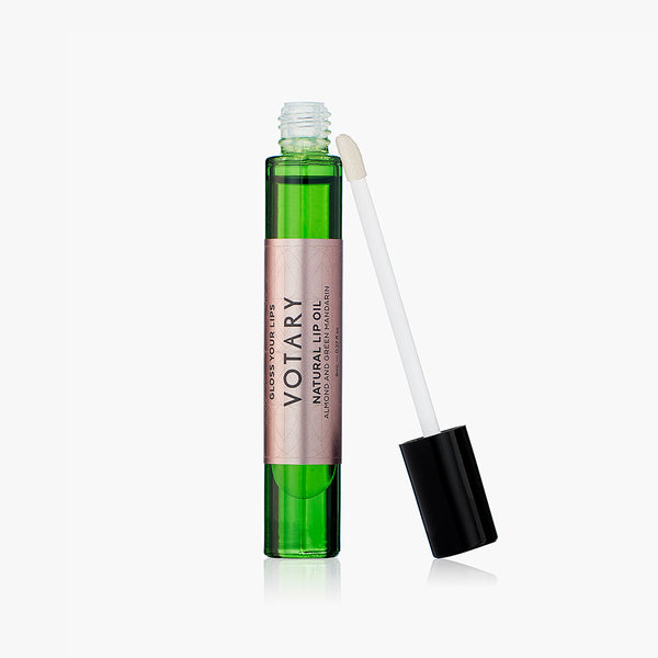 Natural Lip Oil - Almond and Green Mandarin (8ml)