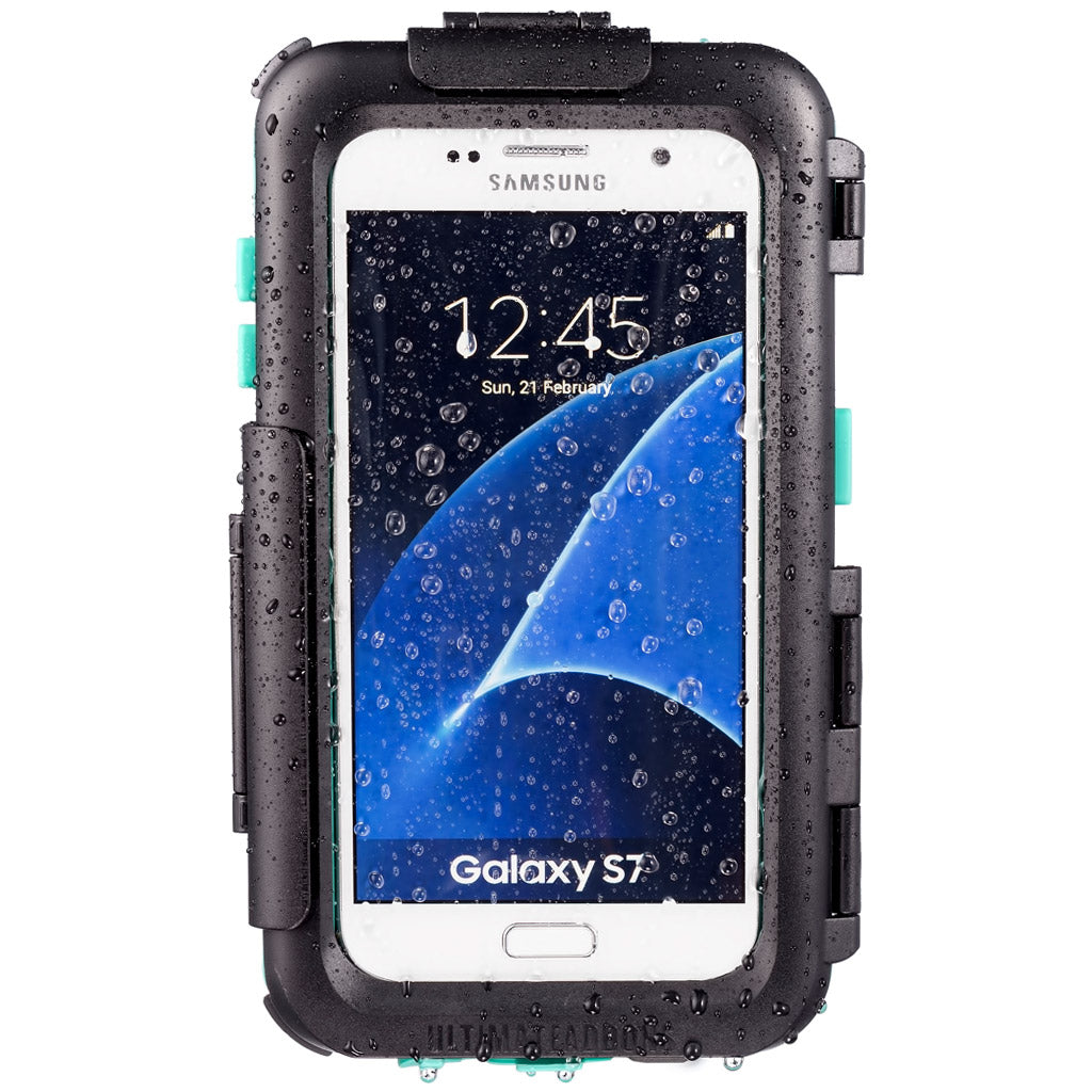 Waterproof Case for Galaxy S7 with Bike Mount Attachments