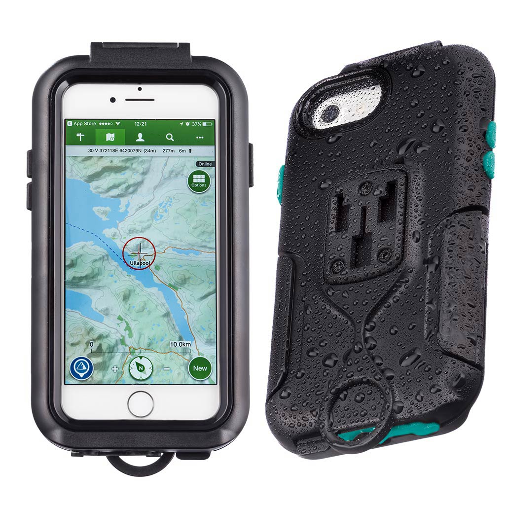 Water Resistant Compact Case for iPhone 7 4.7 with Bike Mount Attachments