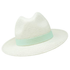 Panama trilby with perspex