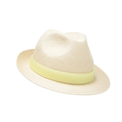 Small Panama trilby with perspex