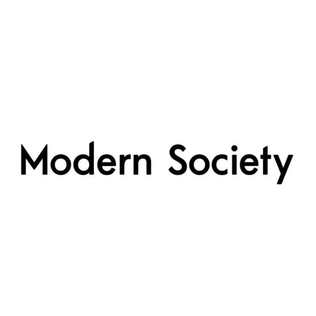Modern society clothing